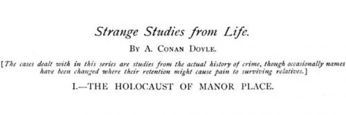 The Holocaust Of Manor Place The Strand Magazine
