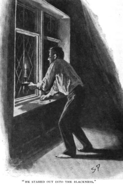 Sherlock Holmes The Hound of the Baskervilles he stared out into the blackness of the moor