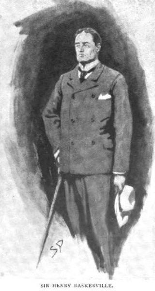 Sherlock Holmes The Hound of the Baskervilles Sir Henry Baskerville