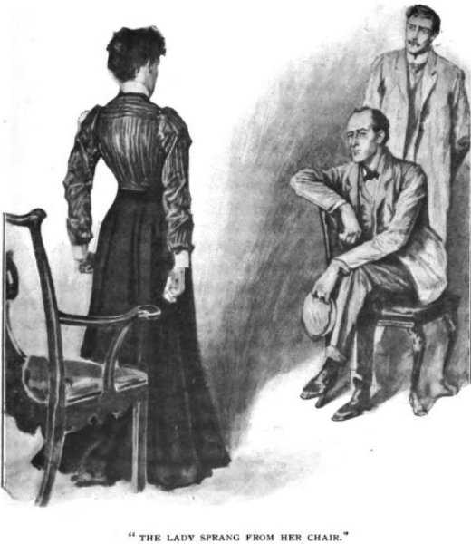 Sherlock Holmes The Hound of the Baskervilles The lady sprang from her chair
