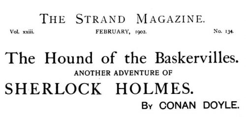 Sherlock Holmes The Hound of the Baskervilles The Strand Magazine February 1902