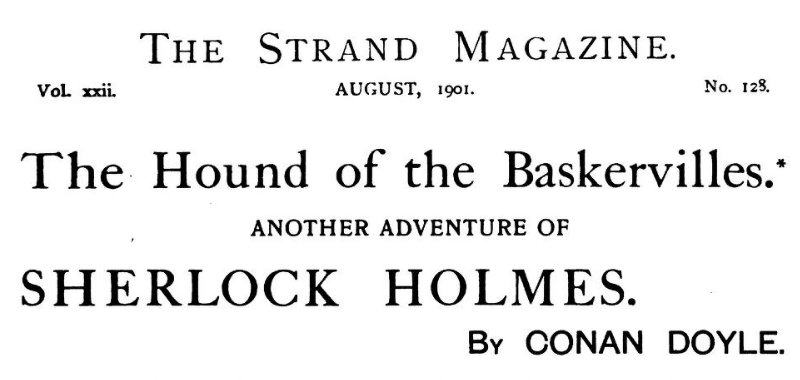 Sherlock Holmes The Hound of the Baskervilles
