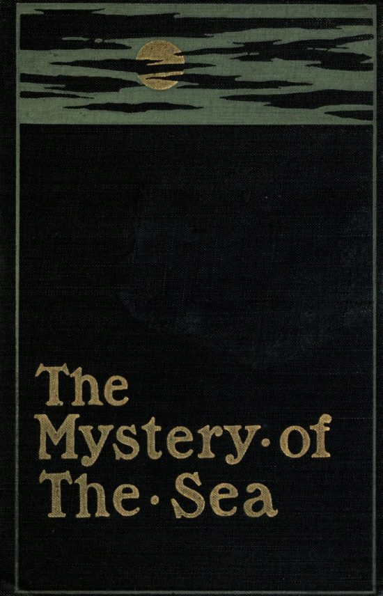The Mystery of the Sea Book Cover by Bram Stoker