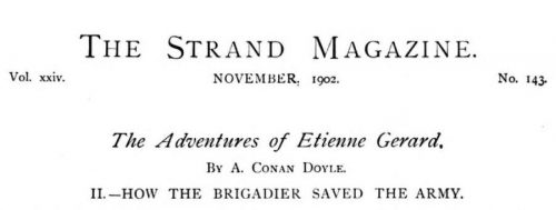How the Brigadier Saved the Army The Strand Magazine