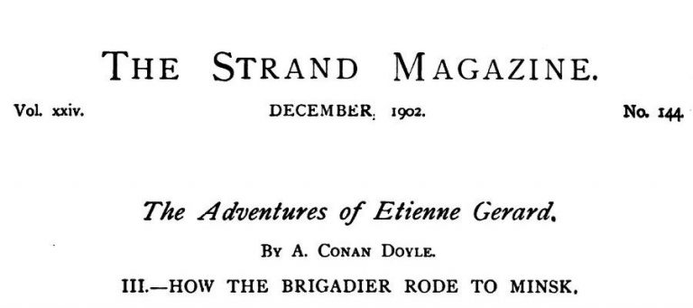 How the Brigadier Rode to Minsk The Strand Magazine