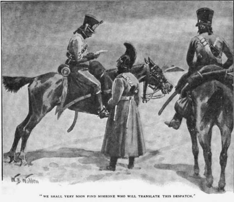 How the Brigadier Rode to Minsk We shall very soon find some one who will translate this despatch