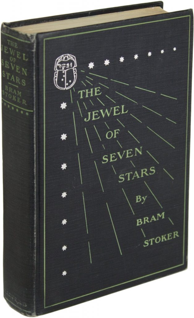 The Jewel of Seven Stars Book Cover by Bram Stoker
