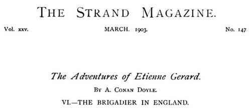 How the Brigadier Triumphed in England The Strand Magazine