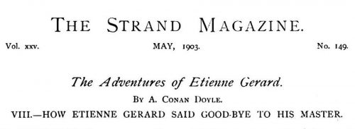 The Last Adventure of the Brigadier The Strand Magazine