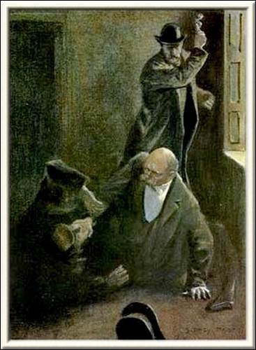 Sherlock Holmes The Empty House he seized Holmes by the throat
