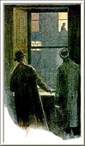 Sherlock Holmes The Empty House I crept forward and looked across at the familiar window