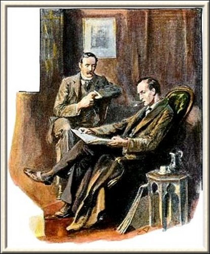 Sherlock Holmes The Empty House My collection of M's is a fine one, said he