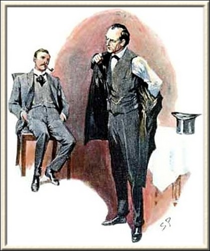 Sherlock Holmes The Norwood Builder My first movement, Watson, said he, as he bustled into his frock-coat, must, as I said, be in the direction of Blackheath