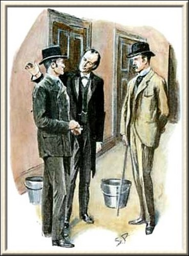 Sherlock Holmes The Norwood Builder Holmes smiled and clapped Lestrade upon the shoulder
