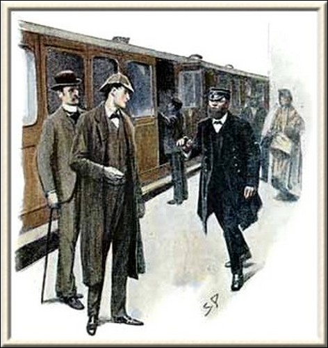 Sherlock Holmes The Dancing Men I suppose that you are the detectives from London? said he