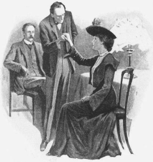 Sherlock Holmes The Solitary Cyclist My friend took the lady's ungloved hand and examined it