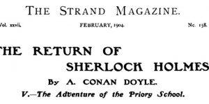 Sherlock Holmes The Priory School