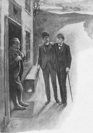 Sherlock Holmes The Priory School With difficulty he limped up to the door