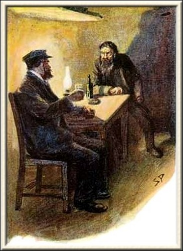 Sherlock Holmes Black Peter We sat down and we drank and we yarned about old times