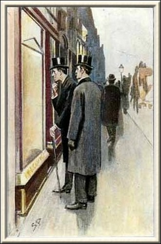 Sherlock Holmes Charles Augustus Milverton following his gaze I saw the picture of a regal and stately lady in Court dress
