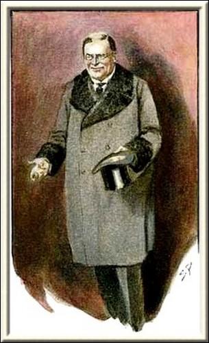Sherlock Holmes Charles Augustus Milverton was a man of fifty