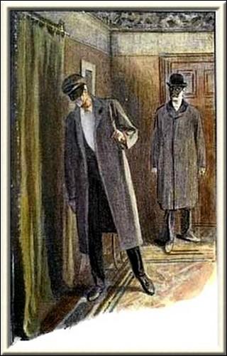 Sherlock Holmes Charles Augustus Milverton We stood with slanting head listening intently