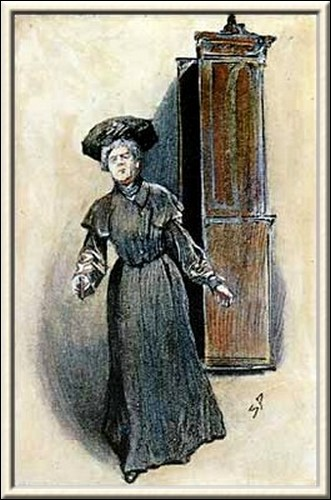 Sherlock Holmes The Golden Pince-Nez A woman rushed out into the room
