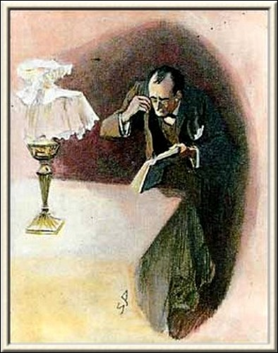 Sherlock Holmes The Golden Pince-Nez He endeavoured to read through them