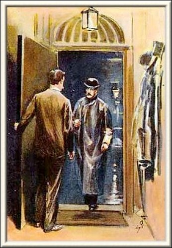 Sherlock Holmes The Golden Pince-Nez It was young Stanley Hopkins, a promising detective