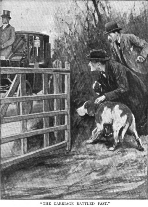 Sherlock Holmes The Missing Three-Quarter the carriage rattled past, I caught a glimpse of Dr. Armstrong within