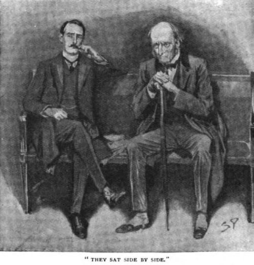 Sherlock Holmes The Second Stain They sat side by side upon our paper-littered settee