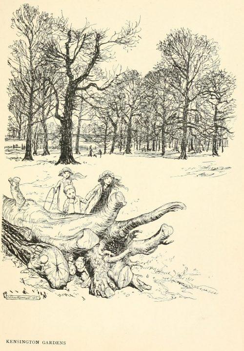 Peter Pan Kensington Gardens