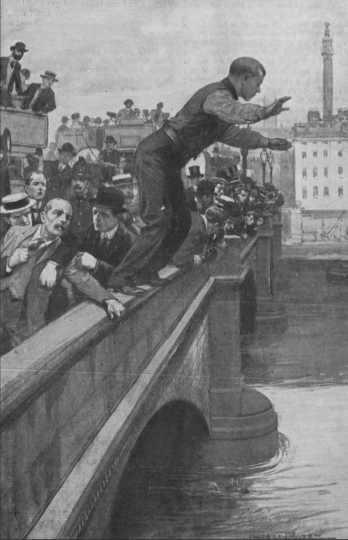 The 'Eroes of the Thames - Jumping Off London Bridge