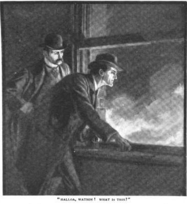 Sherlock Holmes The Adventure of the Bruce-Partington Plans Halloa, Watson! what is this?