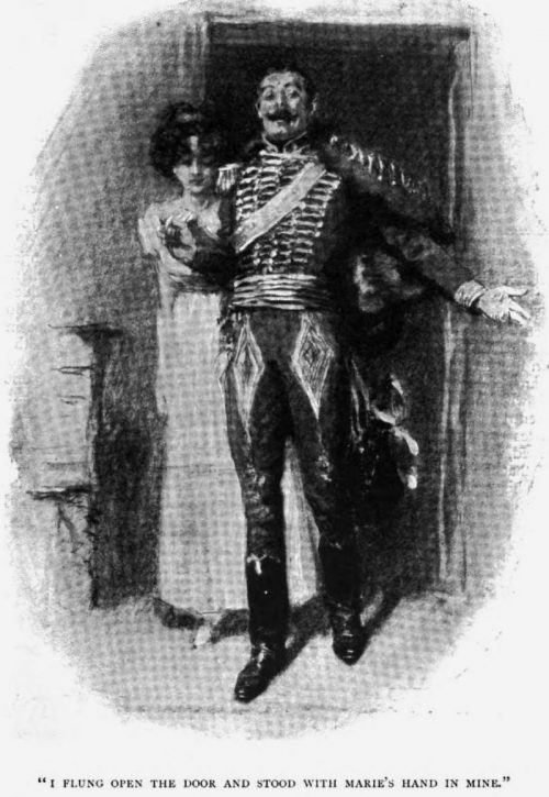 The Marriage Of The Brigadier I flung open the door, and stood with Marie's hand in mine