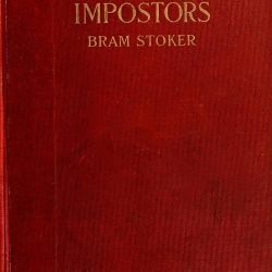 Famous Impostors Book Cover by Bram Stoker