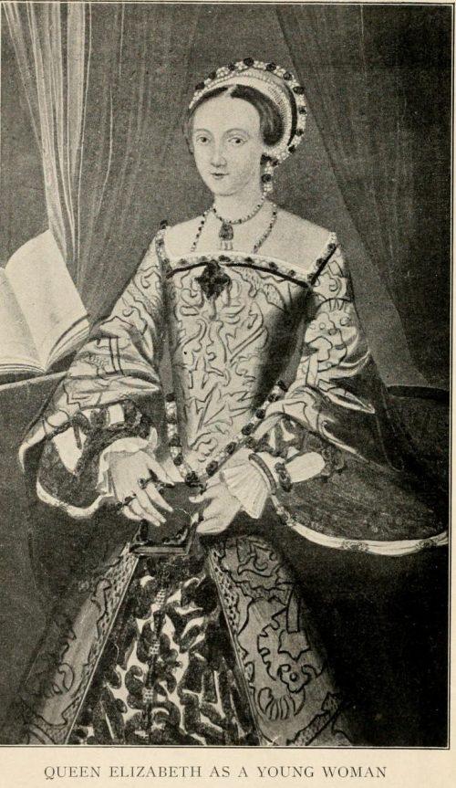 Queen Elizabeth As A Young Woman