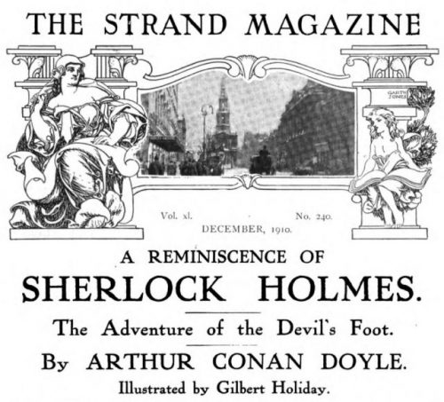 Sherlock Holmes The Adventure of the Devil's Foot