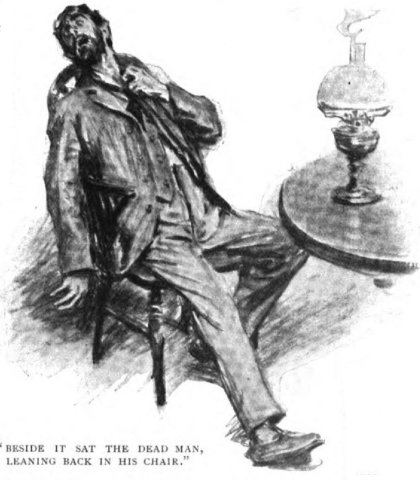 Sherlock Holmes The Adventure of the Devil's Foot Beside it sat the dead man, leaning back in his chair