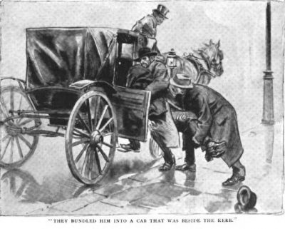 Sherlock Holmes The Adventure of the Red Circle They bundled him into a cab that was beside the kerb