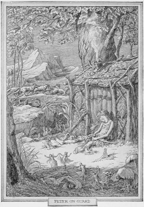 Peter Pan – Peter on Guard