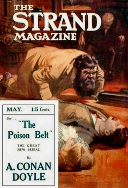The Poison Belt The Strand Magazine Cover, US edition, May 1913
