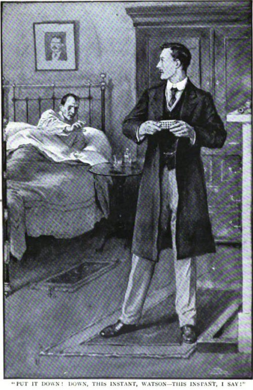 Sherlock Holmes The Adventure of the Dying Detective Put it down! Down, this instant, Watson--this instant, I say!