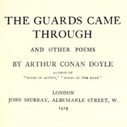 The Guards Came Through and Other Poetry