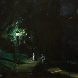 Summer Night Painting by George Bellows