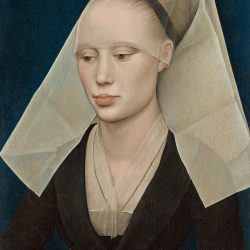 Portrait of a Lady Painting by Rogier van der Weyden
