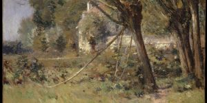 Willows Painting by Theodore Robinson