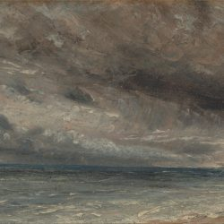 Stormy Sea Painting by John Constable