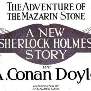 Sherlock Holmes The Adventure of the Mazarin Stone