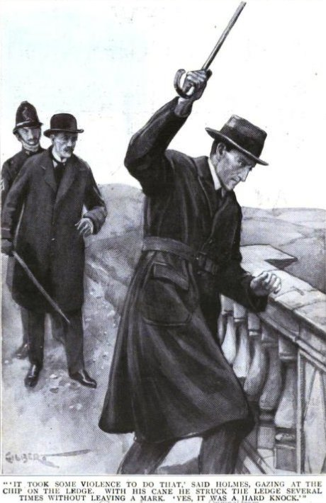 The Problem of Thor Bridge It took some violence to do that, said Holmes thoughtfully